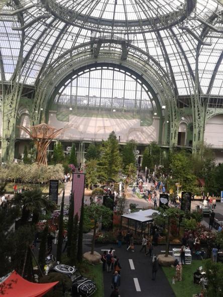 Intra muros u s s botany bay for Art du jardin grand palais